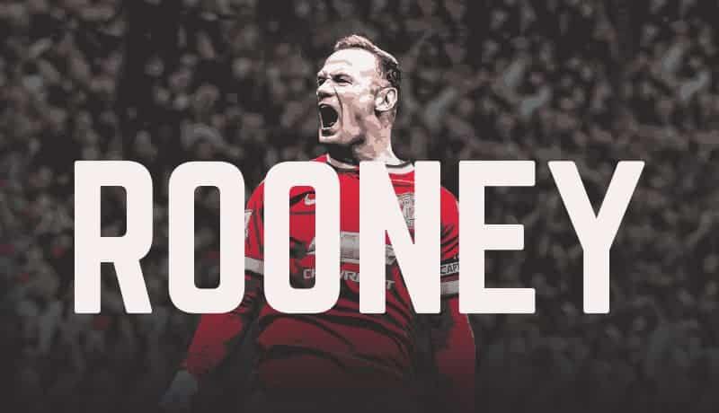 Wayne Rooney Career So Far Infographic
