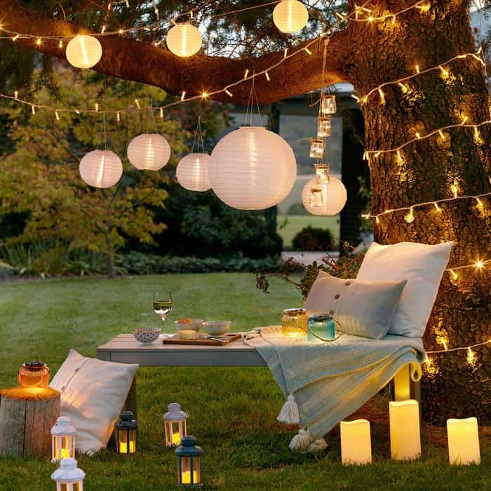 4 step guide on how to create a budget Summer Festival vibe in your back garden