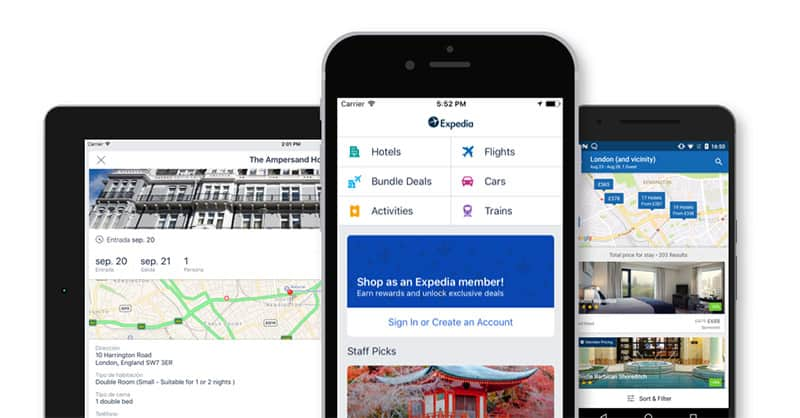 Download the Expedia App